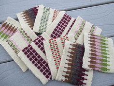 Ravelry: knit4fun972's Krokbragd Mug Rugs