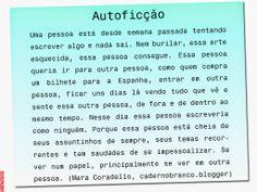 Grafados: Mara Coradello — Autoficção