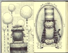 Dan Santat sketchbook. Recommended by Andrea Beaty, author of ATTACK OF THE FLUFFY BUNNIES & FLUFFY BUNNIES 2.