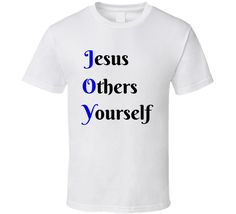 JOY- Jesus Others Yourself Christian T-Shirt  Choose your style & color  Get yours now!  ow.ly/3Gxc30a7we5 #joyt-shirt #joy #joyshirt #jesusothersyourself #jesus #others #yourself #enjoy #joy #enjoylife #enjoying #enjoyinglife #petitejoys #joyful #joyas #joyeria #enjoyed #enjoyment #enjoythemoment #enjoyyourlife #enjoythelittlethings #appjoy #choosejoy #enjoyit #thepursuitofjoyproject#enjoytheride #EnjoyTheJourney #joydivision #Enjoyyourday #enjoyeverymoment #purejoy #EnjoyTheDay