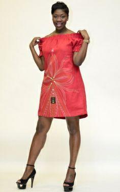 FAVORITE: Embroidered Elastic Dress $175