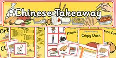 Chinese Take Away Role Play Pack - chinese take away, role play, role play pack, resource pack, role play banner, role play resources, resou...