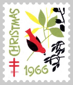 1966 Christmas Seal® by AmericanLung, via Flickr