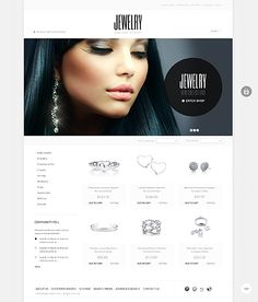 Template 40931 - Jewelry Store Magento Theme