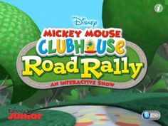 Mickey Mouse Clubhouse Road Rally App - Free For A Limited Time!