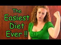 "I love her!  ""Just suck it up.""    Easiest Diet & Weight Loss EVER! Lose Weight Healthy Easy Dieting Tips 