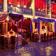 Moroccan Reception Decor | So much color and detail, great lighting.. beautiful!