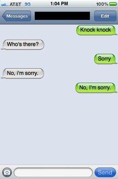 Canadian Knock-Knock Joke