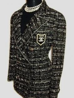 Chanel blazer! Cute! Love it!