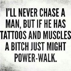 Power walk it girl