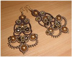Pattern, diagramms, tutorial, Master Class, Tutorial Earrings, ankars