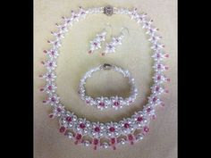 (Tutorial) Dream Wedding Necklace Set PART 1 (Video 58) - YouTube