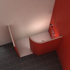 Trendy Small Bath Remodel Diy Walk In Shower 61 Ideas Small Basement Bathroom, Add A Bathroom, Bathroom Plans, Diy Bathroom Remodel, Bath Remodel, Bathroom Renovations, Bathroom Ideas, Basement Renovations, House Renovations