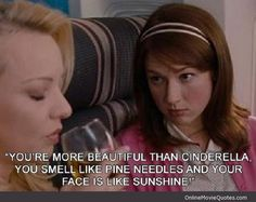 Movie line from the plane scene in the 2011 comedy Bridesmaids starring Kristen Wiig and Maya Rudolph