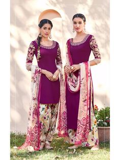 #Kimora #Heer #HeerVol12 Pure Cotton Satin #DesignerSuit  #WeddingSuit #Online #Buy here