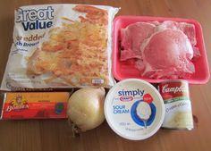 The Country Cook: Hashbrown~Pork Chop Casserole