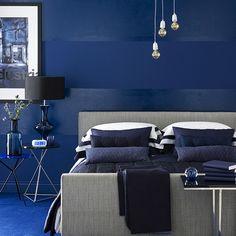 Dazzling Blue!  | | 10 best teenage boy's bedroom ideas | PHOTO GALLERY | Ideal Home | Housetohome.co.uk