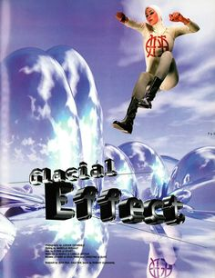 'Glacial Effect' - Project X Magazine (Nov/Dec 1995) From the archive, unfortunately this was their last issue as they closed up shop in January 1996.