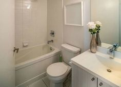 Small Bathroom Remodel Tip: Light Colors