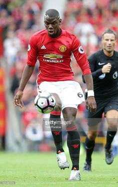 Paul Pogba of Manchester United in action during the Premier League match between Manchester United and Manchester City at Old Trafford on September 10, 2016 in Manchester, England.