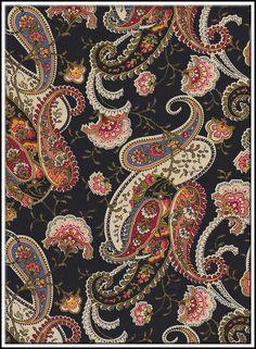 Paisley Art, Paisley Fabric, Paisley Design, Paisley Pattern, Pattern Art, Pattern Design, Textiles, Textile Patterns, Print Patterns