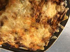 Nachopellistä nacholasagne
