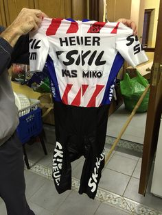 Skil Skinsuit used in the Carrick to Clonmel Time Trial in the 1985 Nissan Classic