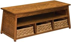 You'll save on every piece of furniture at Amish Outlet Store! We custom make every item, and you can get the Heritage Bench on Oak with any wood and stain.