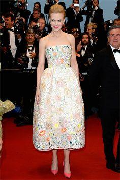 Nicole Kidman in Christian Dior Couture Festival de Cannes 2013 Nicole Kidman, Cannes Film Festival, Christian Dior Dress, Palais Des Festivals, Valentino Dress, Dior Couture, Festival Looks, Festival Style, Milla Jovovich
