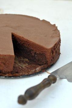 Шоколадный торт с шоколадным муссом