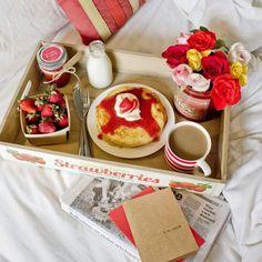 Petit déjeuner idéal pour la Saint Valentin: lequel avez-vous choisi?
