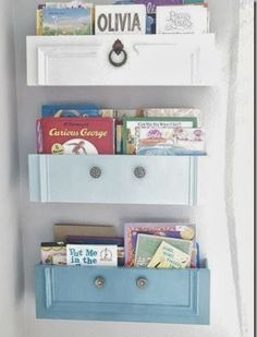 upcycled furniture how to upcycled dresser drawers into shelves, painted furniture, repurposing upcycling Old Furniture, Repurposed Furniture, Furniture Projects, Furniture Makeover, Painted Furniture, Diy Projects, Refurbished Furniture, Chair Makeover, Furniture Refinishing