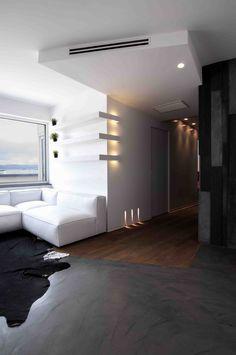 Illuminazione interni #doriarchitetti #vetro #infisso #bianco #luce #light #lucifero's Gypsum Design, Gypsum Ceiling, Ceiling Design, Home Interior Design, Countertops, Shelving, Art Nouveau, House Design, Lights