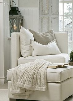 just want to nestle in and read for hours in this comfy chair | mi ...