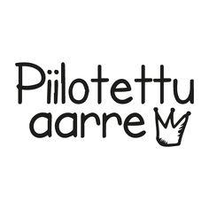 Miten suunnittelin Piilotetun aarteen logon