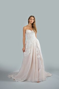 Mark Zunino Bridal Couture Wedding Dress Collection Mark Zunino is recognized as one of Beverly Hills's leading fashion designers for Hollywood A-list Mark Zunino, Bridal Reflections, Bridal Dress Design, Silk Organza, Beaded Lace, Lace Applique, Dress Collection, Bridal Dresses, One Shoulder Wedding Dress