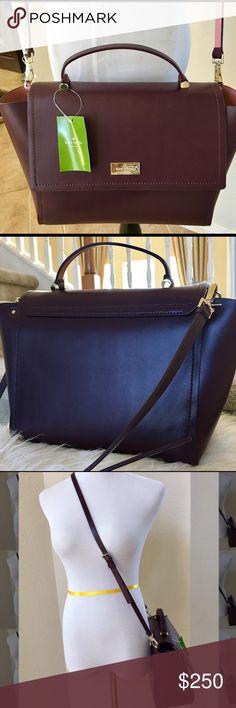 Selling this Kate Spade Lilah Arbour Hill -Aubrg/Rose on Poshmark! My username is: aishine03. #shopmycloset #poshmark #fashion #shopping #style #forsale #kate spade #Handbags