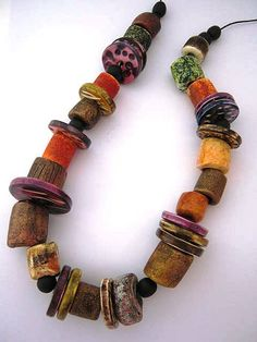 "The Finished ""Grungy"" Necklace 