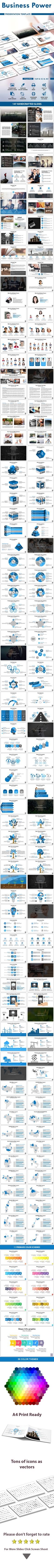 Business Power powerpoint Presentation Template - Business PowerPoint Templates