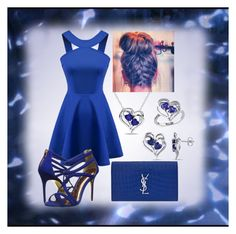 """""""Untitled #211"""" by crystal0248 ❤ liked on Polyvore featuring Chicnova Fashion, Yves Saint Laurent and Ted Baker"""