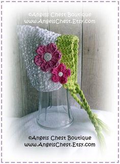 Crochet PIXIE BONNET Hat PDF Pattern Sizes Newborn by AngelsChest, $6.99