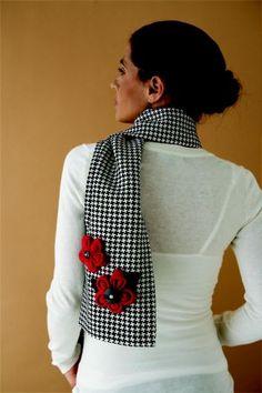 kanzashi scarf
