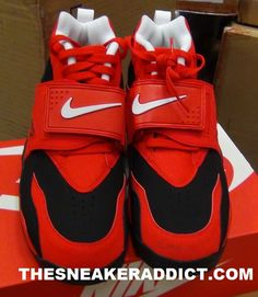 nike air diamond turf challenge red black 4 Nike Air Diamond Turf Challenge  Red Black b07da3d9b605a