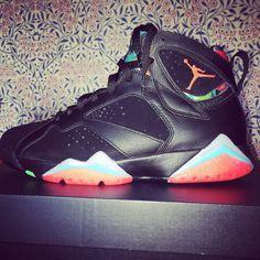 Jordan VII Barcelona Nights #sneakers