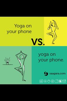 Quit yackin' on your phone and use it to do some yoga instead! Saagara provides yoga, breathing, and meditation apps to improve your health and raise your consciousness!
