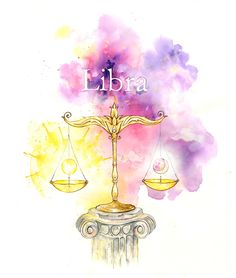 Horoscope starsign illustrations for Cancer and Libra with typography. Libra Art, Libra Sign, Zodiac Art, Libra Zodiac, My Zodiac Sign, Horoscope, Signo Libra, October Libra, All About Libra