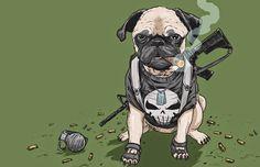 mobster dog