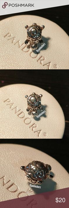 Turtle charm, Pandora retired RETIRED & RARE!   *HALLMARKED S925 ALE* Item No. 790158 HARD TO FIND!  Pre loved condition hence the faded hallmarks  I'm selling from my personal collection. All are guaranteed authentic as they've only been bought from a Pandora store or Pandora.net.  I will also polish before shipping. Box not included.   Priced competitively/ No trades/ No holds Check out my other listings for more Pandora items and exclusives! Pandora Jewelry Bracelets