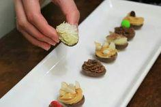 Mini Ovos de Pascoa de colher
