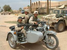 US Army Ural - motorcycle